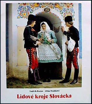 Russian Native Costume (Lidove Kroje Slovacka Czechoslovakia National Costumes)