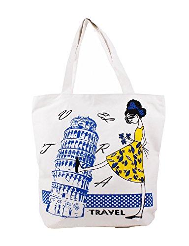 10star11-womens-stylish-tower-of-pisa-patterned-shoulder-bag-canvas-bag-pisa-blue