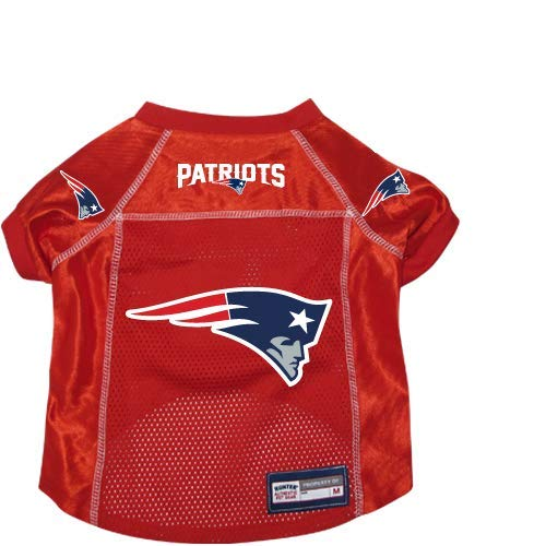 New England Patriots Pet Dog Football Jersey XL