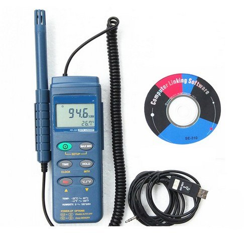 GOWE Temperature and Humidity Recorder Hygrometer Datalogging