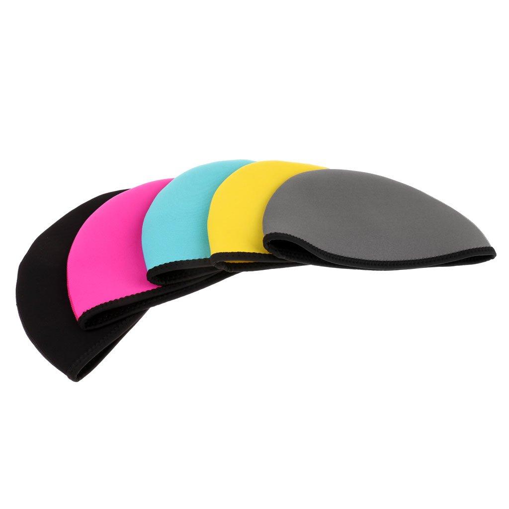 Black Dolity 2mm Neoprene Wetsuits Beanie Hat Stretchy Warm Waterproof Swim Cap Black//Blue//Rose//Grey//Yellow S M L S 53 to 57cm