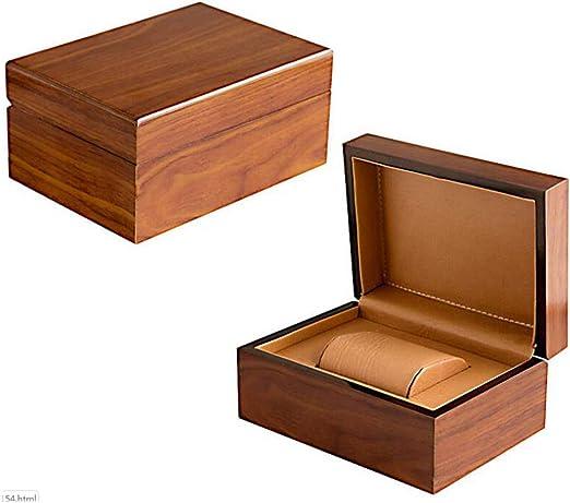 Meilandeng Cajas para Relojes Caja de Regalo de la Caja del Reloj de Alta Gama de Madera: Amazon.es: Hogar
