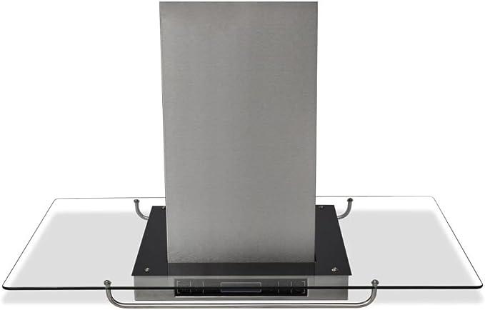 xinglieu campana extractora de cocina A Isla con pantalla LCD diseño único y sencillo, Robusto y resistente campana extractora campana extractora cocina: Amazon.es: Grandes electrodomésticos
