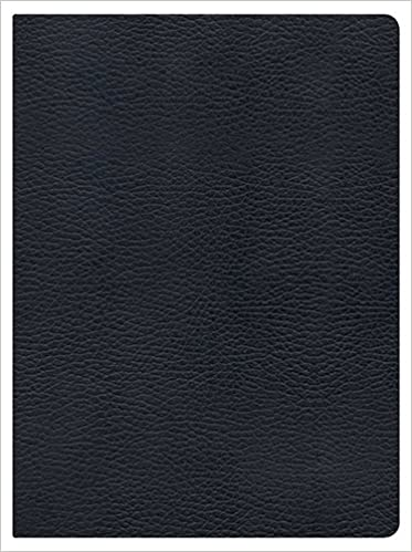Holman Study Bible: NKJV Edition, Black Genuine Leather: Holman