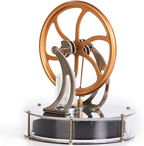 Sunnytech Low Temperature Stirling Engine Motor Steam Heat Education Model Toy Kit -
