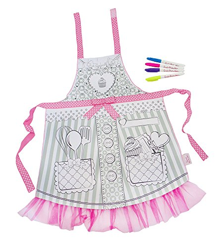 Great Pretenders Color-An-Apron Dress-Up Play