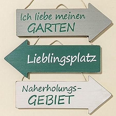 Mdf Schild Wegweiser 30 Cm Pfeil Tafel Dekoration Spruche Zum Thema
