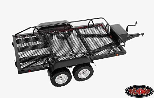 RC4WD 1/10 Bigdog Dual Axle Scale Car/Truck Trailer by RC4WD
