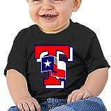 Kim Lennon Texas Ranger Logo Custom Boy Summer Tshirt Black