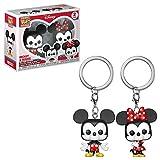 Funko Pop Keychain Mickey and Minnie, 2 Pack