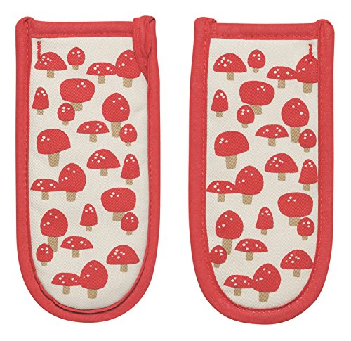Now Designs Pot Handle Holder, Set of Two, Toadstool Time