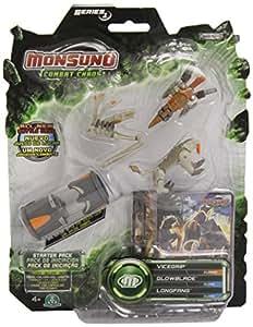 Monsuno - Blíster 1 Core/3 figuras/3 cartas Serie A (Giochi Preziosi 52507)