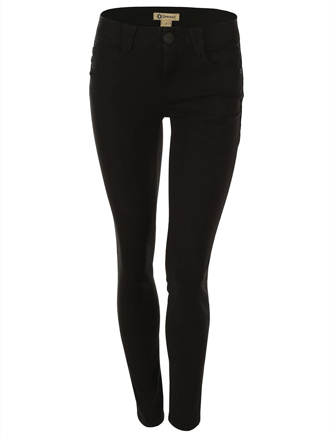 "Democracy Women's ""Ab""solution and Booty Lift Technology Legging Jean Black"