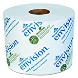 Georgia Pacific Professional 1444801 Envision High-Capacity Standard Bath Tissue, 1-Ply, White, 1500 Sheets Per Roll (Case of 48)