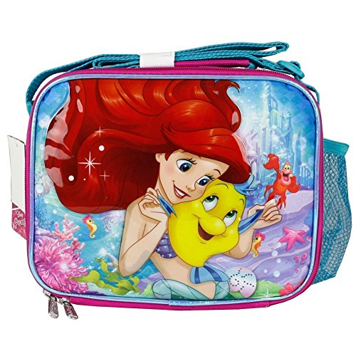 Disney The Little Mermaid Pink Lunch Bag