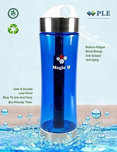 Botella de agua alcalina con filtro de agua mineral de Ple ...
