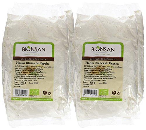 Bionsan Harina Blanca Espelta - 4 Paquetes de 500 gr - Total: 2000 gr: Amazon.es: Alimentación y bebidas