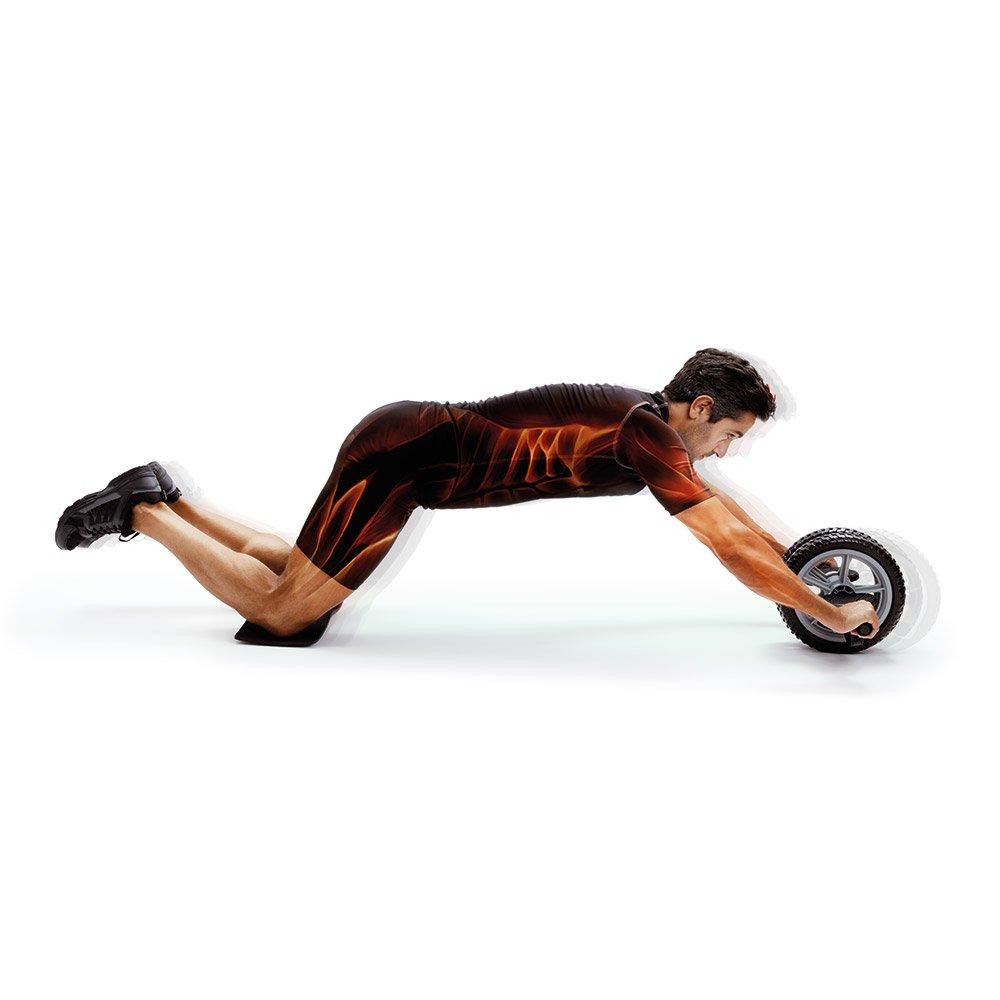 66Fit - Rueda tonificadora abdominal (incluye rodilleras): Amazon.es: Deportes y aire libre