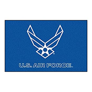 Image of Area Rugs Fanmats Military 'Air Force' Nylon Face Ultimat Rug
