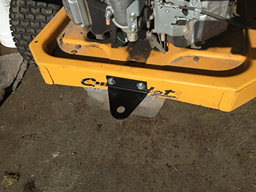 zero turn mower trailer hitch