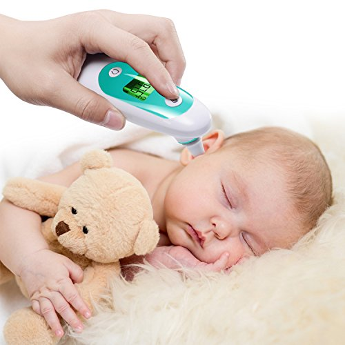 Baby Thermometer, Accurate Forehead Thermometer with Ear Mode, Digital Clinical Thermometer for Baby, Toddler and Adults with with FDA Approved by APOLLED (Image #7)