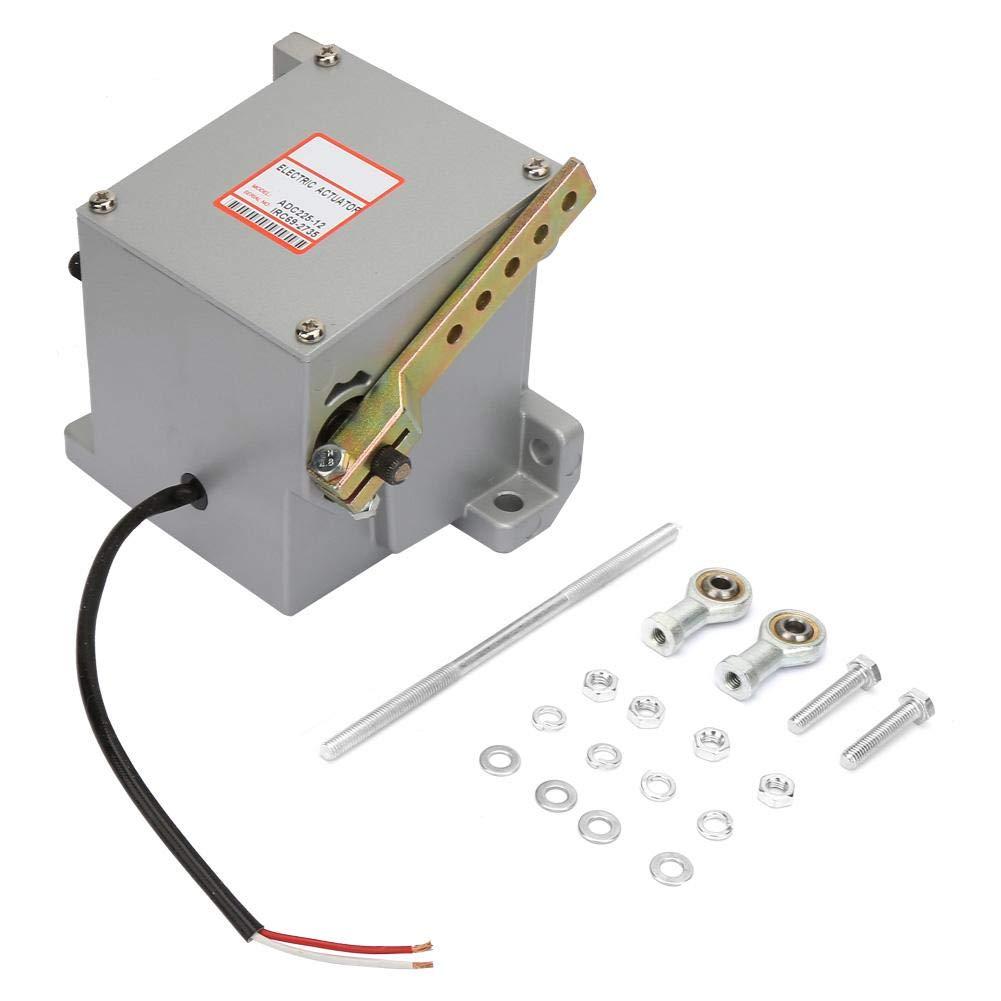 Actuador de generador, actuador de generador externo ADC225-12V Controlador de grupo electrógeno diesel con salida rotativa, par lineal y servo proporcional