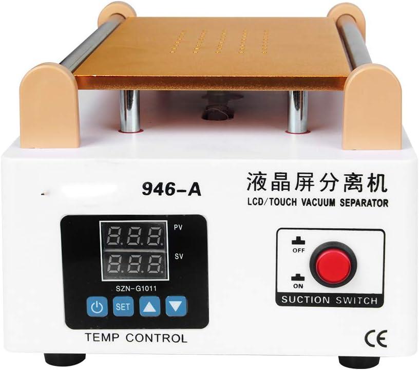 QWERTOUR LCD Screen Touch Screen Separator Built-in Pump Vacuum Glass 7in LCD Separator Machine Screen Disassemble Repair Tool