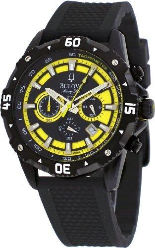 Bulova Men's 98B176 Marine Star Stainless Steel Watch ()