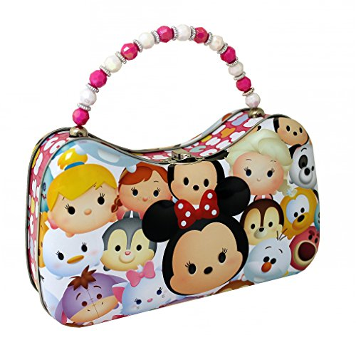- The Tin Box Company 787807-12 Disney Tsum Tsum Scoop Purse Tin