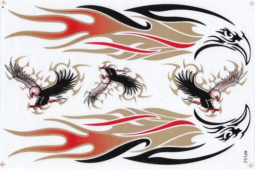 Compare Price Flame Decals For Motorcycles On