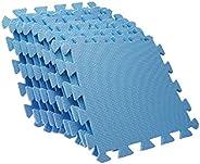 EVA Puzzle Foam Anti-Fatigue Blue Interlocking Floor Mats