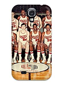 Top Quality Case Cover For Galaxy S4 Case With Nice Portland Trail Blazers Nba Basketball (1) Appearance
