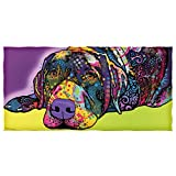 Dean Russo Savvy Lab Cotton Beach Towel