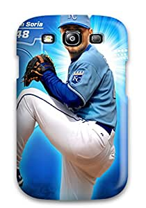 Cute Appearance Cover/tpu WuzqOvR77lgRrk Kansas City Royals Case For Galaxy S3