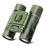 SUPRBIRD Kids Binoculars, 8x21 Compact Shock Proof Folding Telescope Camouflage Binoculars for Bird Watching, Outdoors Sports, Hiking and Concert Theater Opera, Best Gift Adults Children