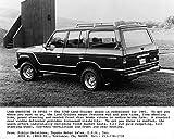 1981 Toyota FJ60 Land Cruiser Wagon Truck Factory Photo