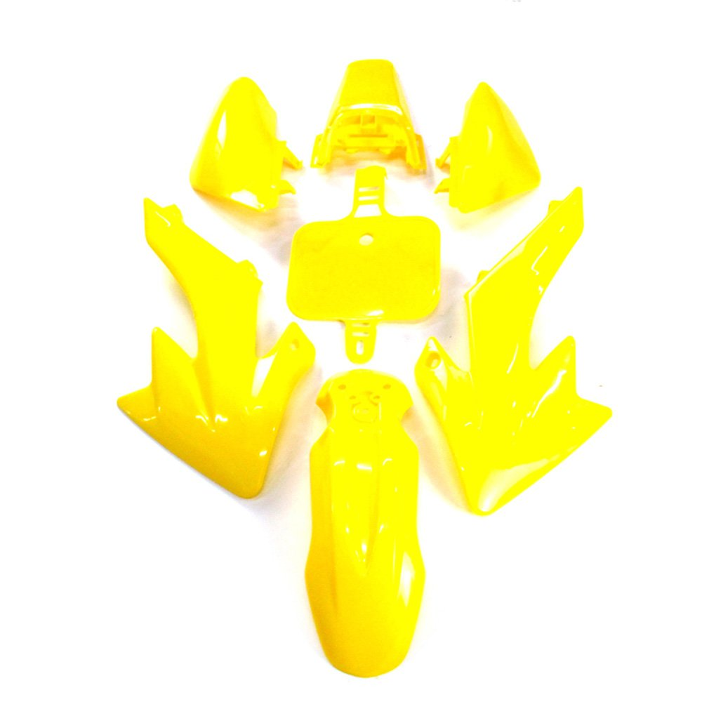 XLYZE Green-Group Motorctcly Plastic Fender Body Work Fairing Kit For SDG SSR Honda Piranha Chinese CRF50 XR50 50cc 70cc 90cc 110cc 125cc 140cc 150cc 160cc Pit Dirt Bike