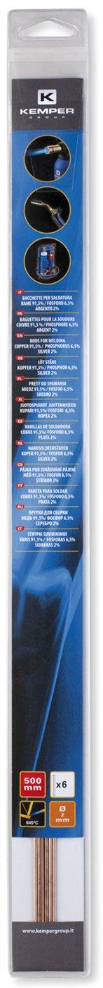 Materiales Para Soldar En Confezzione Autoservicio Kemper 5993 Bronce