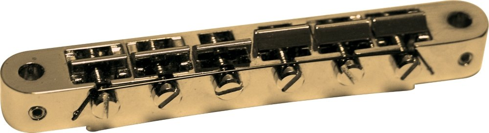 TonePros AVR-II Tune-o-matic Bridge Gold AVR2/G