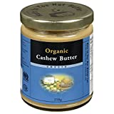 Nuts to You Nut Butter Organic Cashew Butter, 250 g
