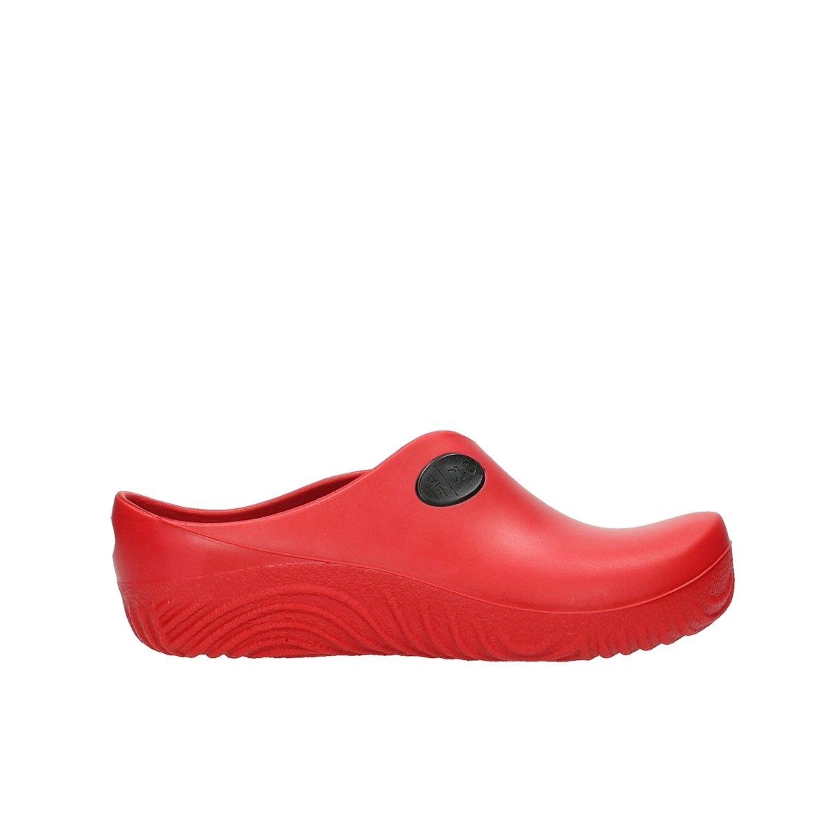 Wolky Zuecos Comfort 02550 OK Clog 39 EU|90500 red PU