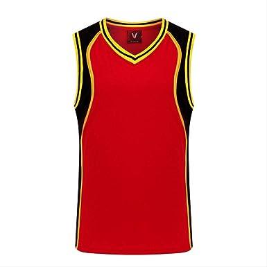 WRPN Hombres Baloncesto Jersey, Jerseys De Baloncesto ...