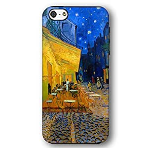 Vincent Van Gogh Caf¡§| Terrace At Night For Iphone 4/4S Case Cover Armor Phone Case