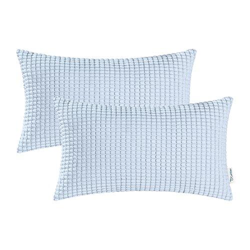body pillow cover light blue - 4