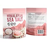 Himalayan Crystal Pink Sea Salt Rocks, 2.2 lbs. / 1 Kg Used With Grinders And Food Grade For Fine Organic Cooking Benefits