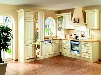 winkelk che landhaus. Black Bedroom Furniture Sets. Home Design Ideas