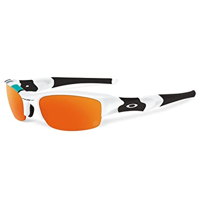 Amazon.com: Oakley Flak Jacket XLJ 30 año AF – Gafas de sol ...