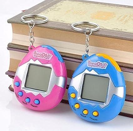 Digital Pet - Virtual Pet Keychain - Tamagotchi Electronic Pets Toys 90S  Nostalgic 49 Pets in One Virtual Cyber Toy Funny Tamagochi - Tamagotchi Pet  ... 4571549d2