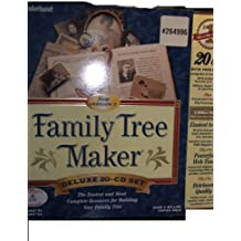 Family Tree Maker Deluxe 20 CD Set Version 7