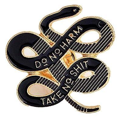 Amazon.com: Janedream - Broche de serpiente bohemio para ...